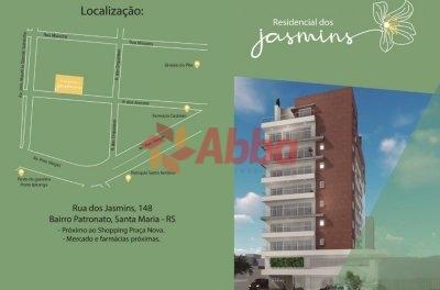 RESIDENCIAL JASMINS - 2 DORMITÓRIOS COM GARAGEM
